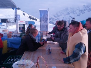 RFID cashless at 6000 metres