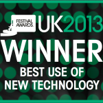 UKFA 2013 Best Use Of New Technology