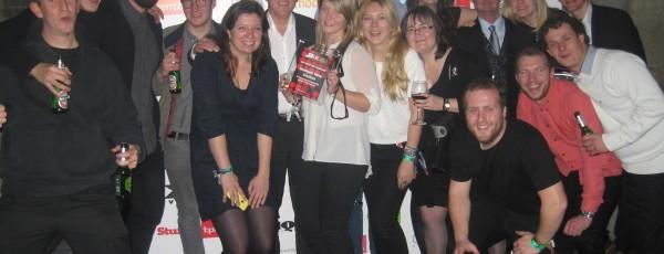 Winning 'Best Use of Technology' at UK Festival Awards 2013