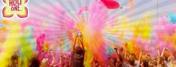 Getting off to a colourful start with Holi One in Southampton
